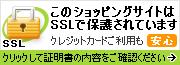 このショッピングサイトはSSLで保護されています。