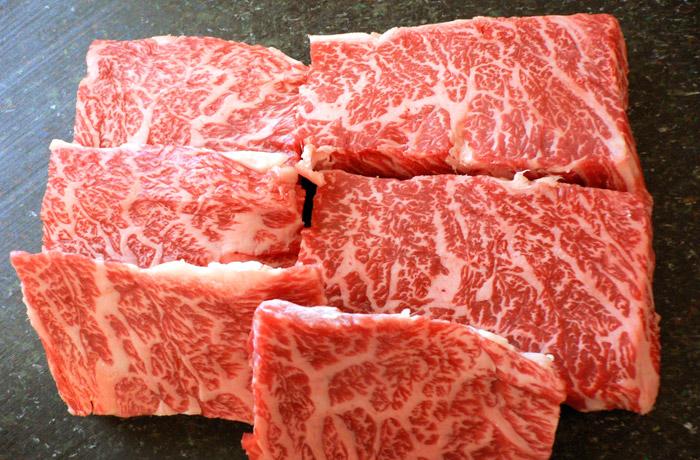 旨みが濃厚神戸牛「カルビ」