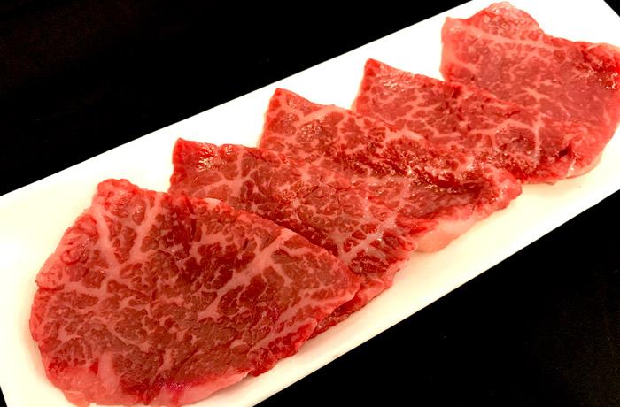 あっさりした味わいと甘みの神戸牛「もも」