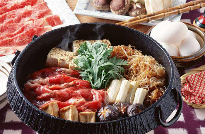 鍋料理の定番「すき焼き」